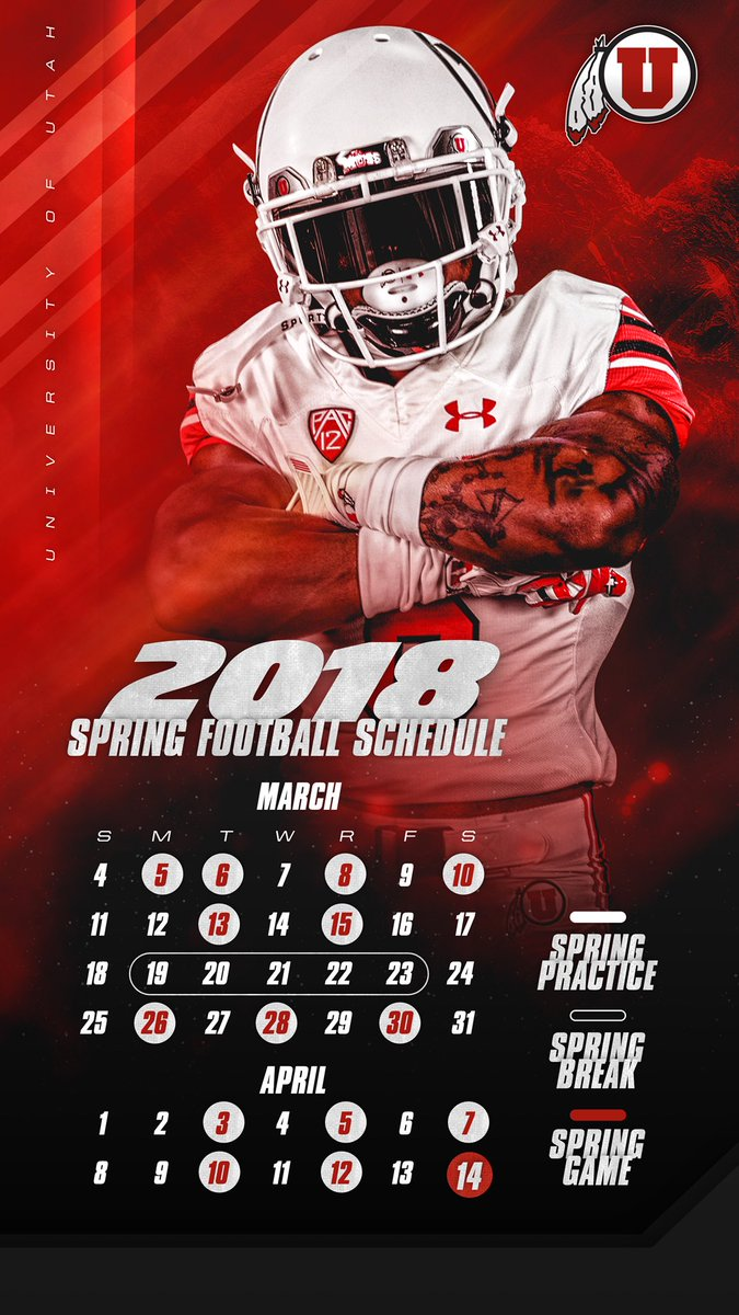 Utah Football On Twitter One More In Case You Need A Handy Spring
