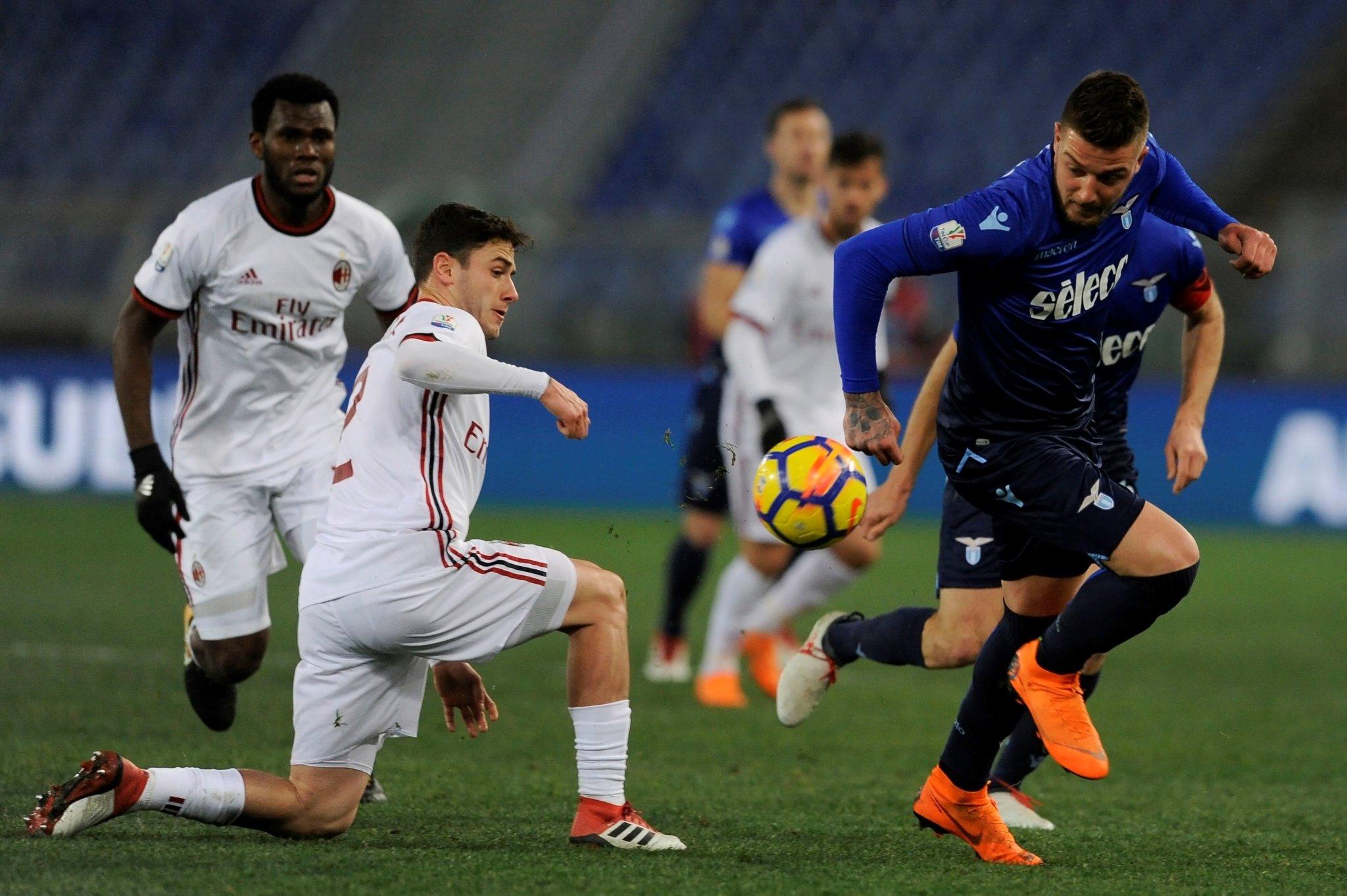 SS Lazio vs AC Milan Highlights & Goals - Coppa Italia - 28 February 2018