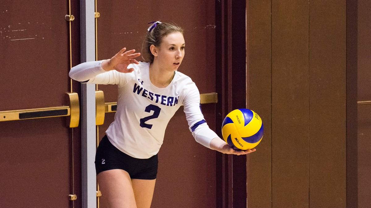 Hey #FCVC community. Let's get out to @WesternU Alumni Hall Saturday afternoon to cheer on @WesternMustangs MVB and WVB teams. #OUA #PurpleReign #volleyball #ldnont