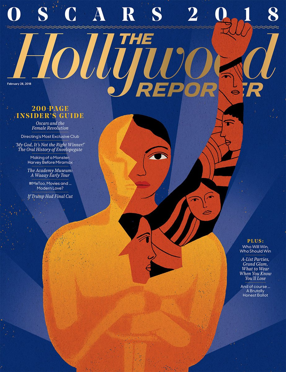 Image result for the hollywood reporter oscars 2018