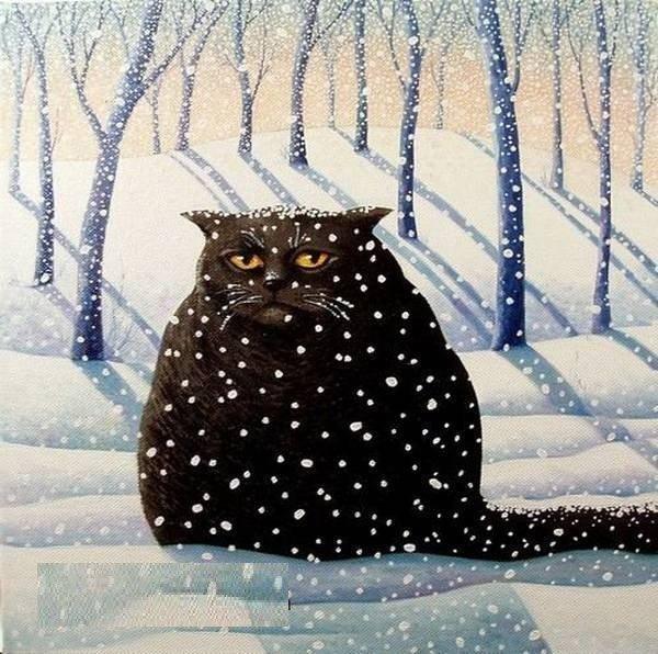 Михаилу, зима вернулась открытки