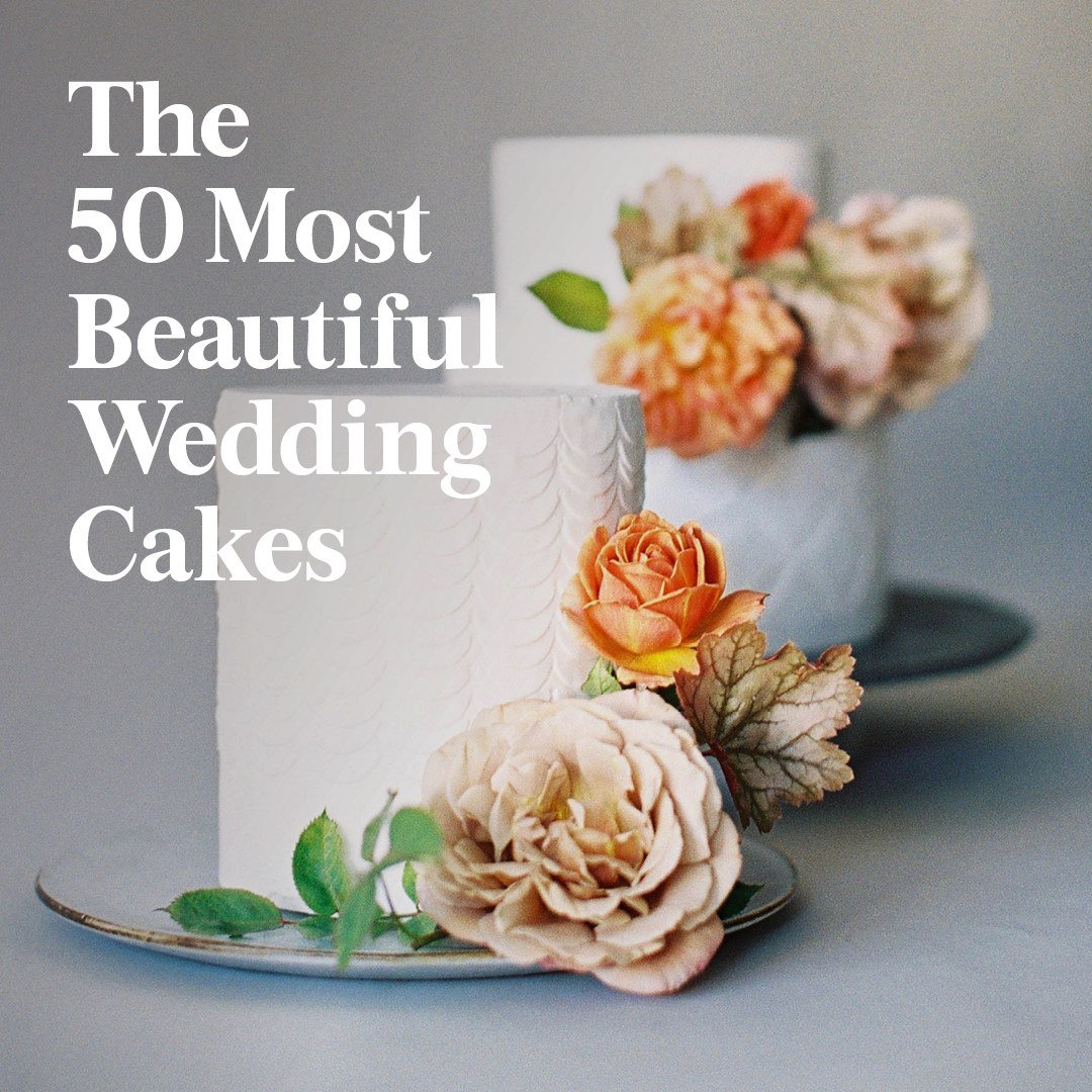 Brides On Twitter The 50 Most Beautiful Wedding Cakes Httpst