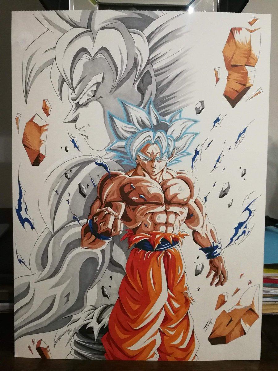 Fmjl Art On Twitter Goku Ultra Instinct Control Dbz