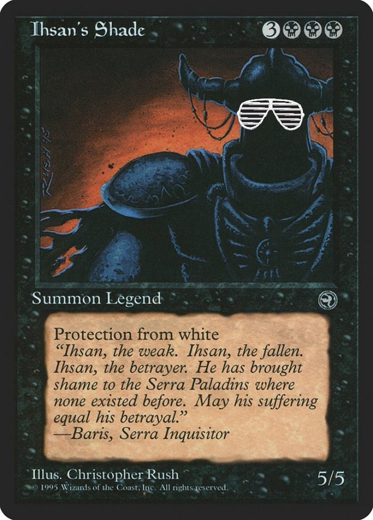 Mtg Salvation On Twitter Look At Wizards Throwin Legendary Shade