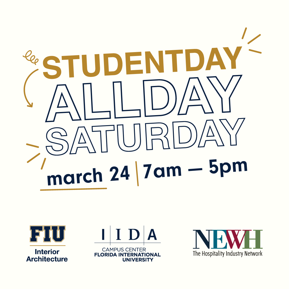 ... 7am 5pm At FIUu0027s Paul L Cejas Architecture Building. Stay Tuned For  More Information! #fiuinteriors #interiorarchitecture #Interiors  #studentday #design ...