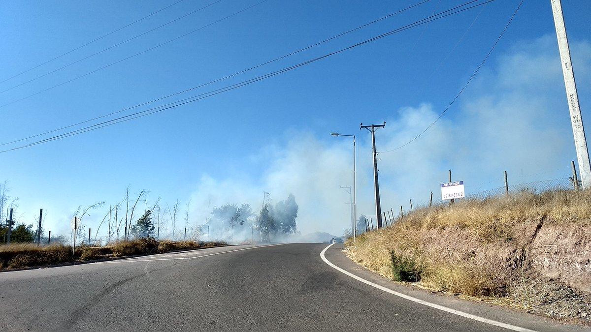 #Ovalle  incendio en proceso salida sur...