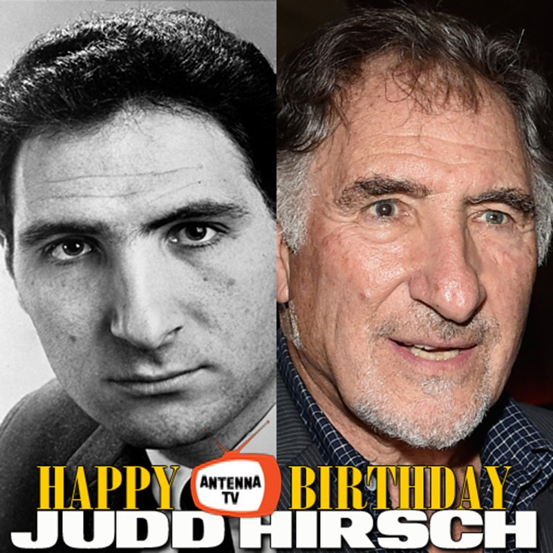 Happy 83rd birthday to Judd Hirsch!! Watch him play John Lacey on Dear John when it returns to the #AntennaTV family of shows soon! What&#39;s your favorite #JuddHirsch role? <br>http://pic.twitter.com/Z3fAnzB3JX