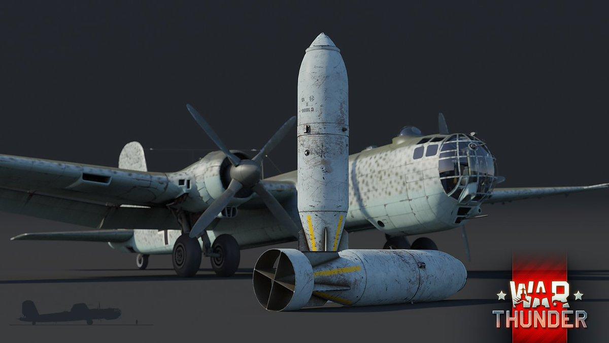 Co by to bylo za aktualizaci 1.77 kdyby v ní nebyl He 177 #Greif. Přivítejte dlouho očekávaný německý strategický bombardér schopný letět až 550 km/h a nosností 6 600 kg pum. Již brzy v #AdvancingStorm. https://t.co/VEvviijL2w https://t.co/LYK2nrGwyZ