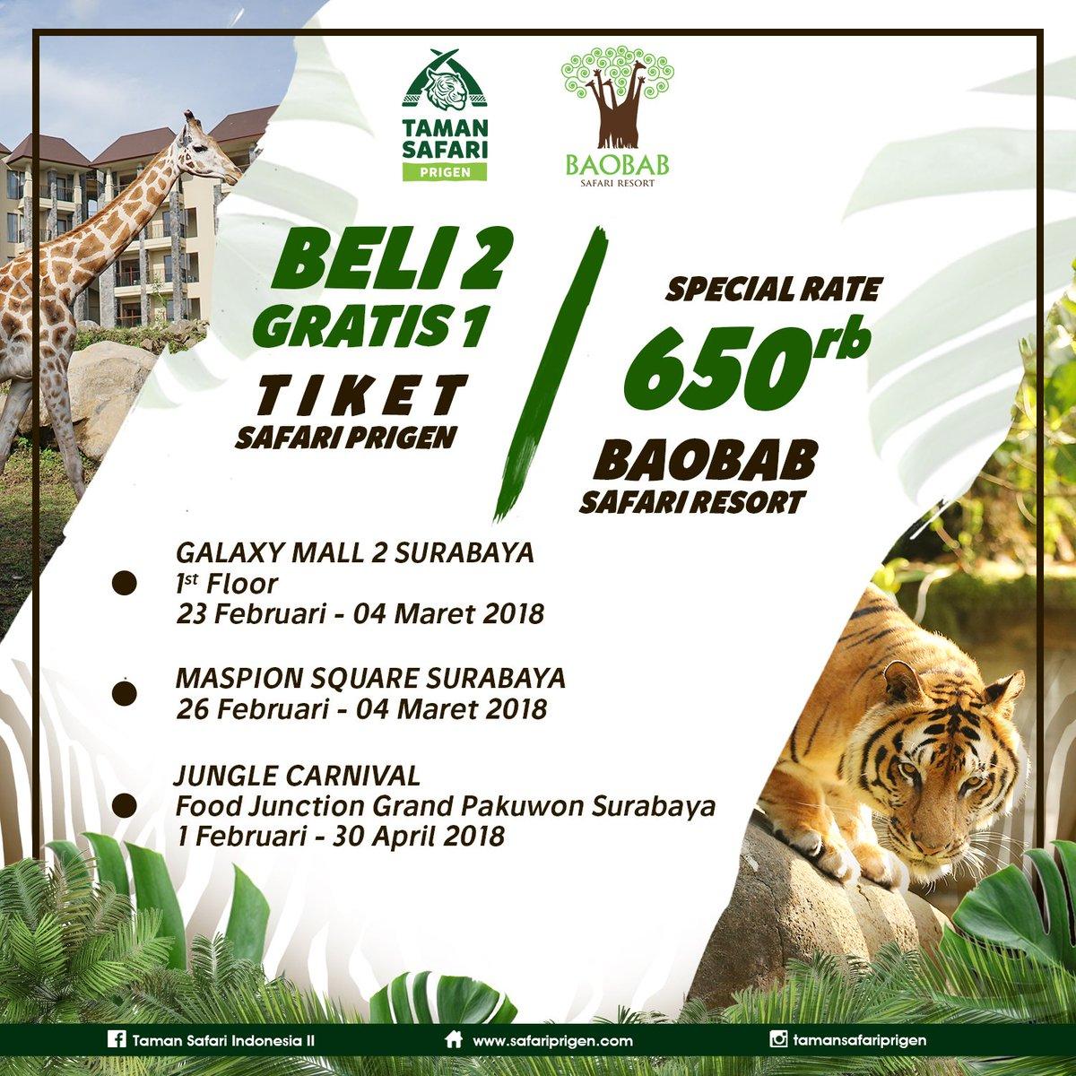 Taman Safari Prigen On Twitter Promo Tiket Masuk Taman Safari