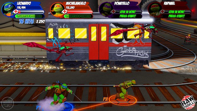 """WWG on Twitter: """"The new Teenage Mutant Ninja Turtles arcade game from  @rawthrills is packed with villains...and nostalgia!  https://t.co/oweGVBsLG0… https://t.co/RBgAomU8yO"""""""