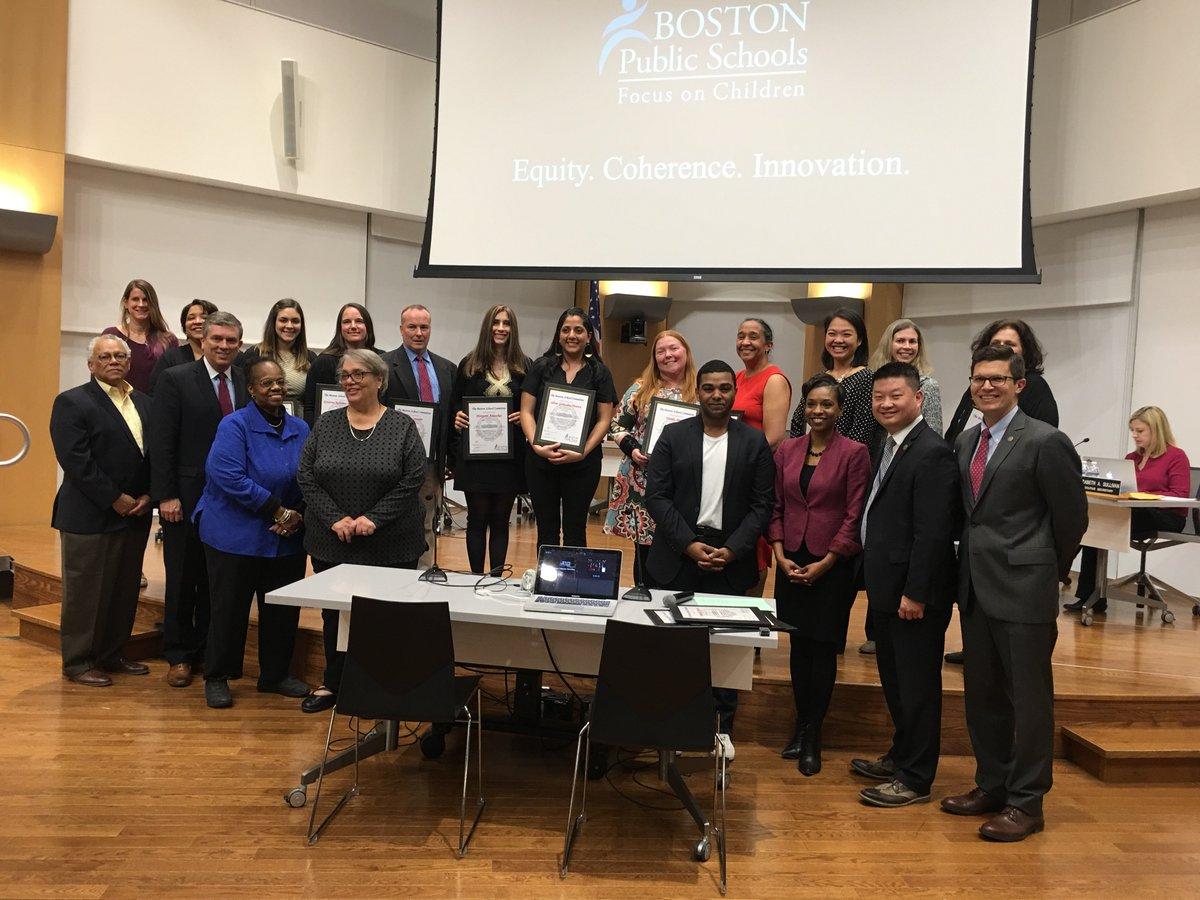 Bostonpublicschools On Twitter Congrats To 17 Bps Teachers Honored