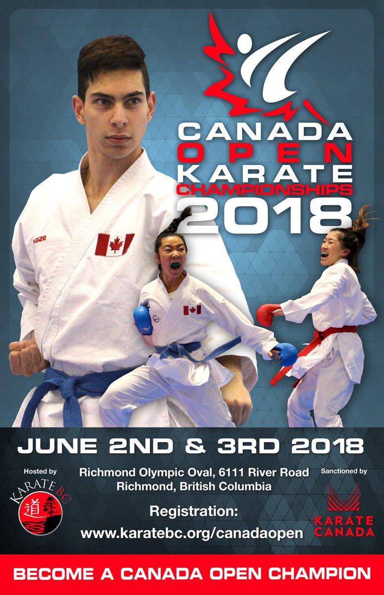 "Canada Open Karate on Twitter: ""Early-bird registration starts tomorrow  online!! https://t.co/rqGeac8DSU #karate #karatecanada #karatebc #wkf #kata  #kumite #kobudo… https://t.co/o2DwIzR3kF"""