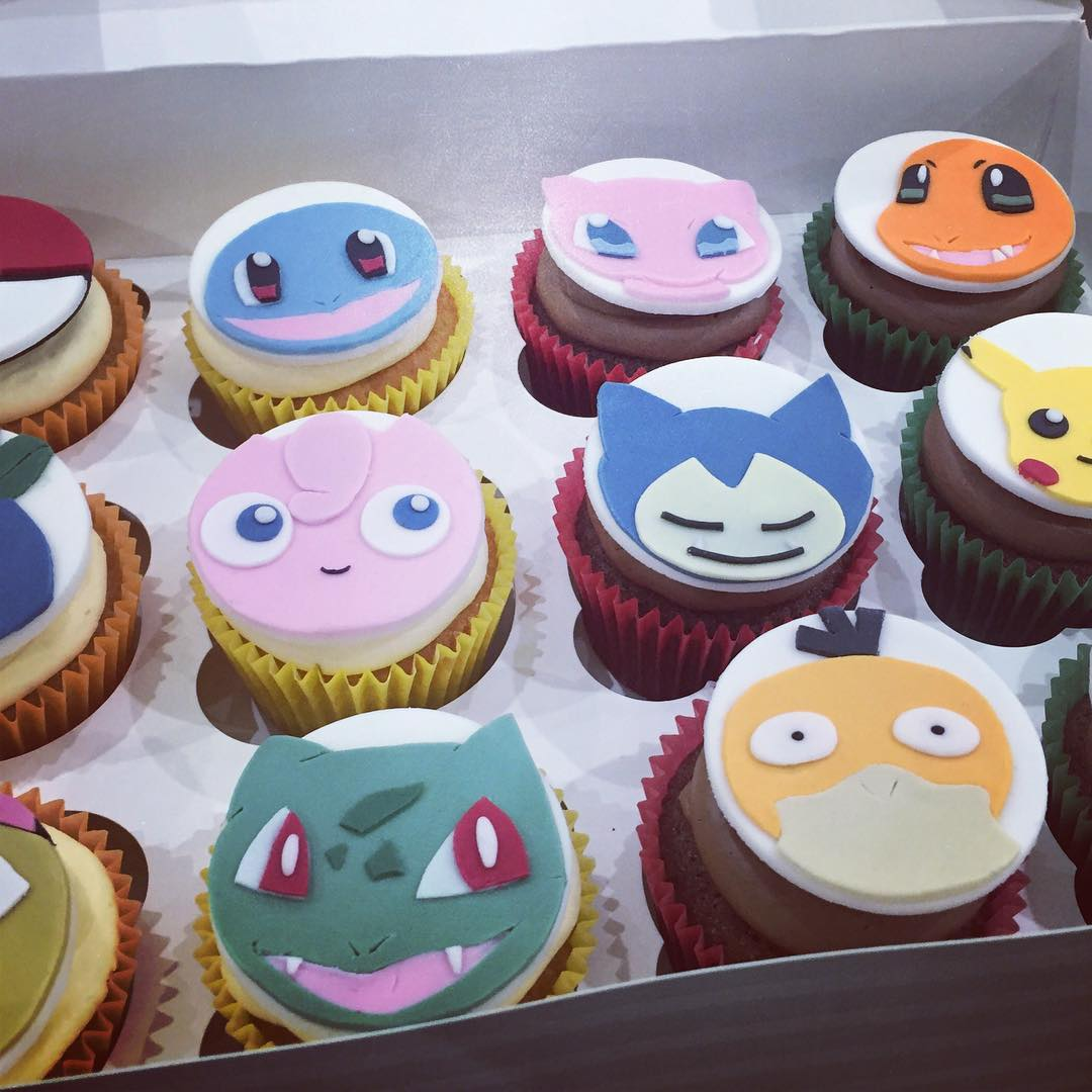 Take a look at all the Pokémon food, cos...