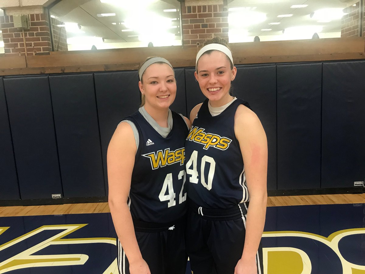The swing sisters - Sydney McKinney and Taylor Blevins of Emory & Henry. #hcbg