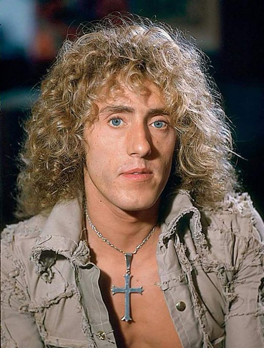 Happy 74th Birthday to Roger Daltrey . May the mic always swing .