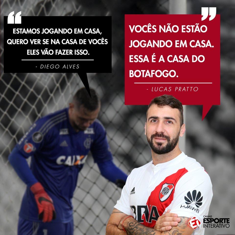 Em entrevista à FOX Sports Argentina, Lucas Pratto revelou conversa em campo com Diego Alves sobre arbitragem e deu alfinetada no time do Flamengo!