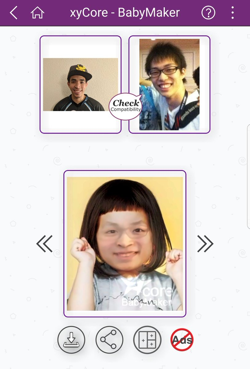 So apparently this is what it would look like if @aMSaRedyoshi and I had a baby LOL