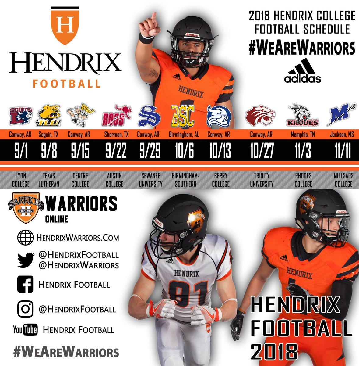 Hendrix College Football Logo