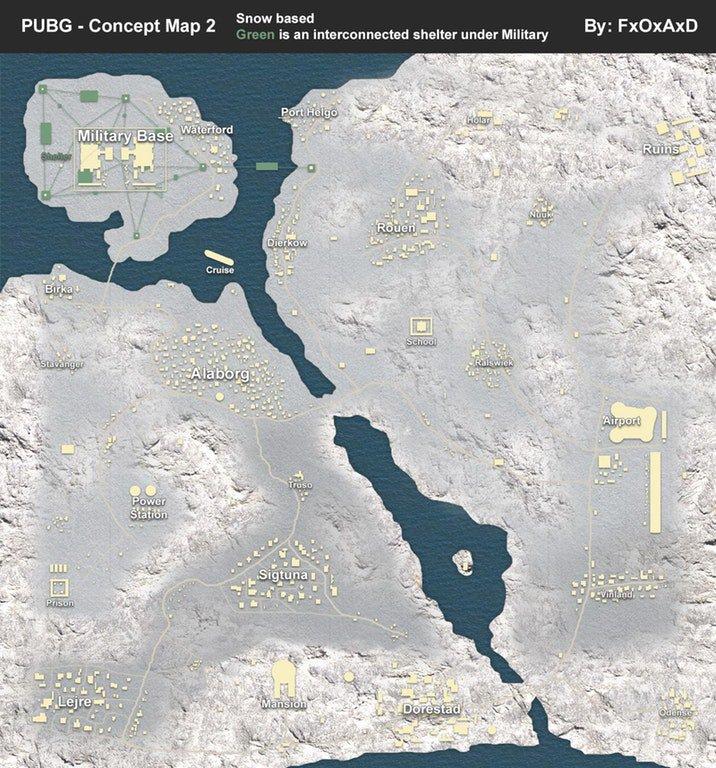 pubg snow map leak reddit