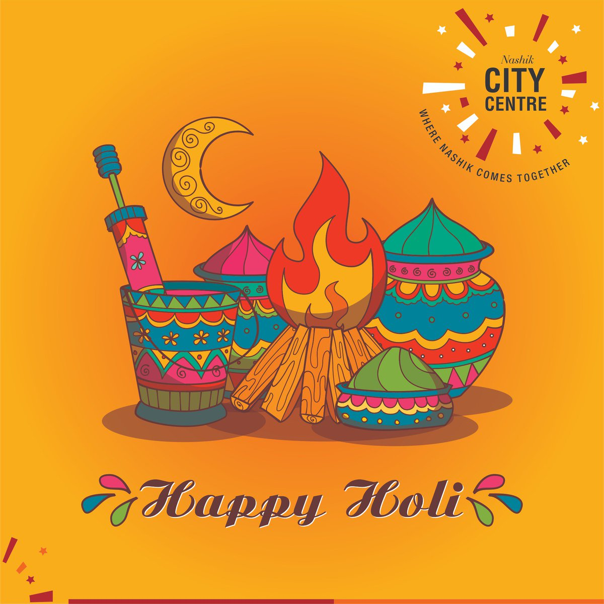 Nashikcitycentre On Twitter May The Fire Of Holi Purify Your Heart