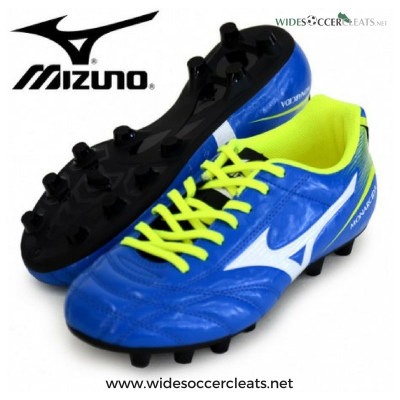 c652a715a3be Kick the ball with the Mizuno Monarcida FS Jr Wide Kids Cleats  http   bit.ly 2lf7UX2  Mizuno  MizunoMonarcida  Soccer  SoccerCleats   SoccerBoots  Football ...
