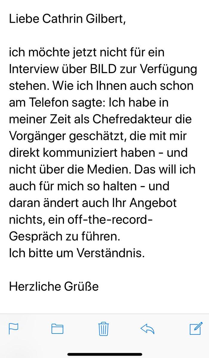 Kai Diekmann على تويتر Da Die Kollegin Cathringilbert Unsere