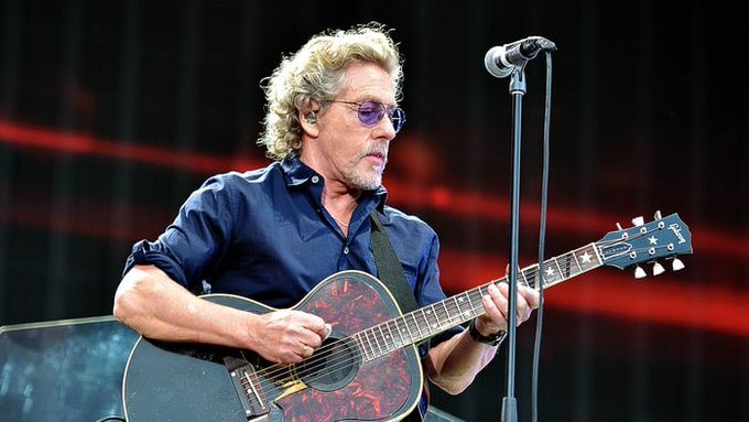 Happy Birthday to the great Roger Daltrey. 74 years old.