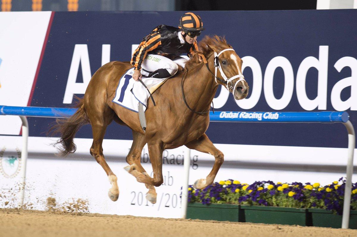 Rayya se impuso en el UAE Oaks Grupo3