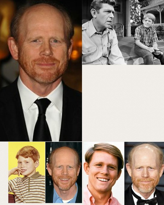 """Happy \""""64th\"""" Birthday Ron Howard.  Dayum Oapy. We\re All Getting Older."""