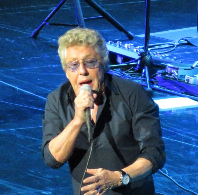 Happy Birthday to a true Rock & Roll Icon, Roger Daltrey of   Pic taken at last August.
