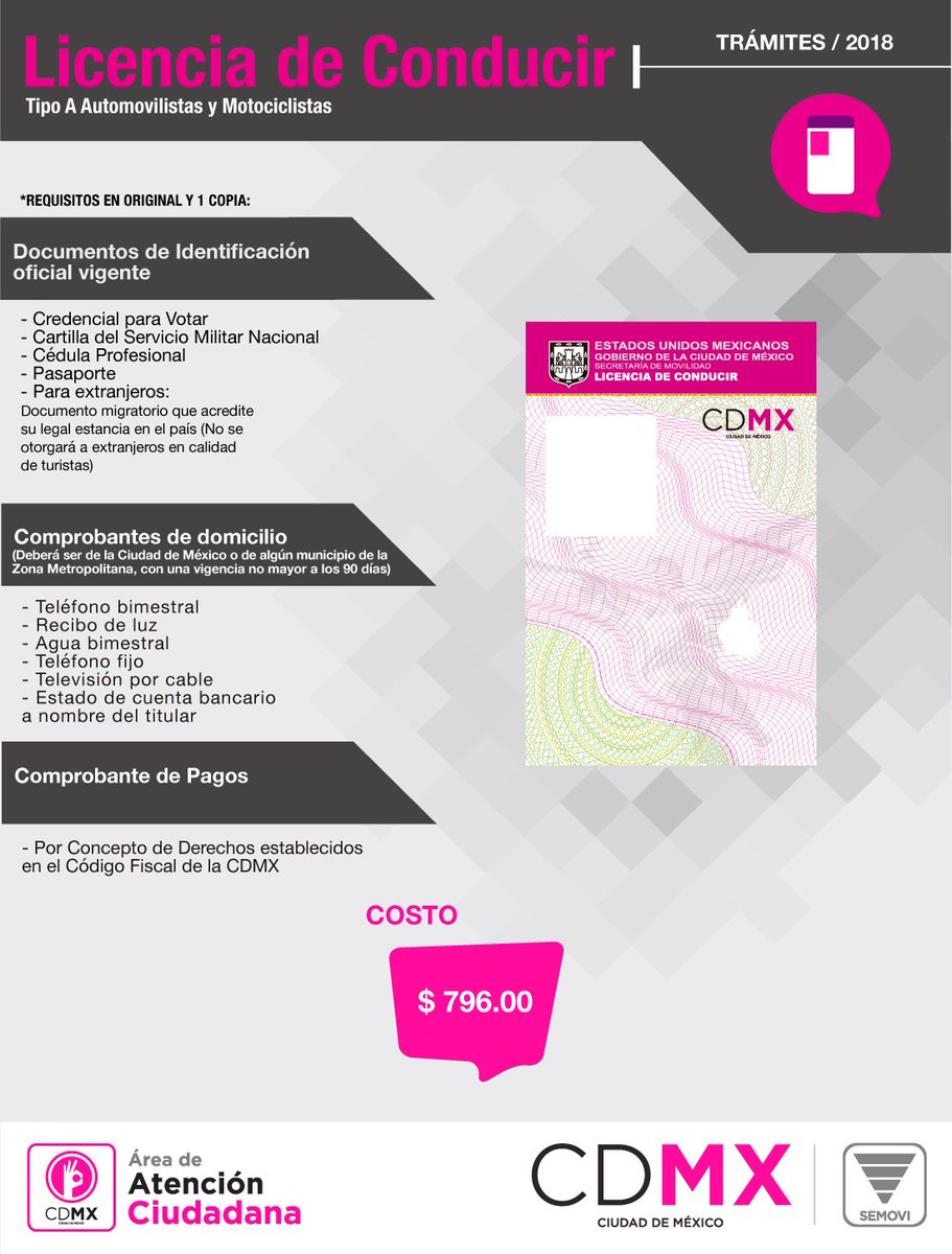 Secretaría De Movilidad Cdmx On Twitter Buenos Días El