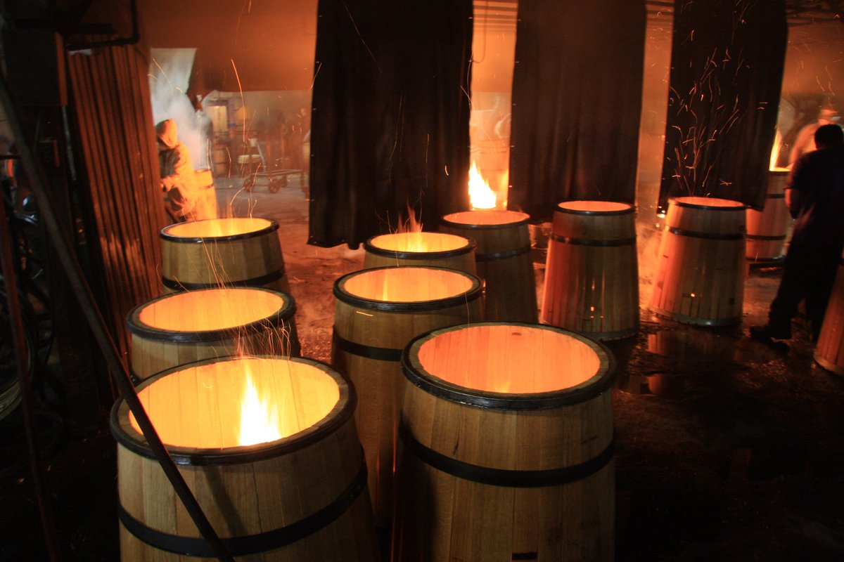 Image result for barrel toasting
