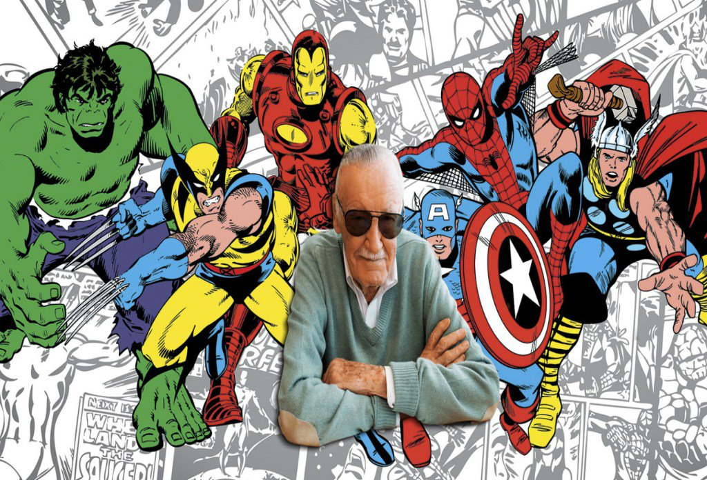 Oswaldo GómezSocorro's photo on Stan Lee