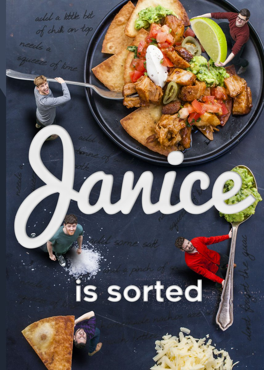 Sortedfood on twitter did you catch our new book cover in sortedfood on twitter did you catch our new book cover in wednesdays video this ones for janice but when you get yours it will be personalised with forumfinder Image collections