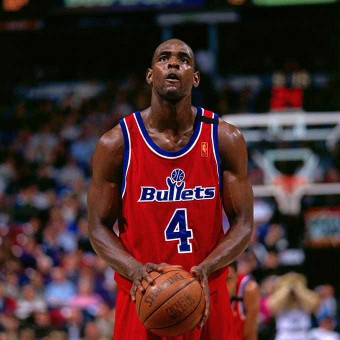 Happy birthday to former Bullet/Wizard All-Star and 2018 candidate Chris Webber!