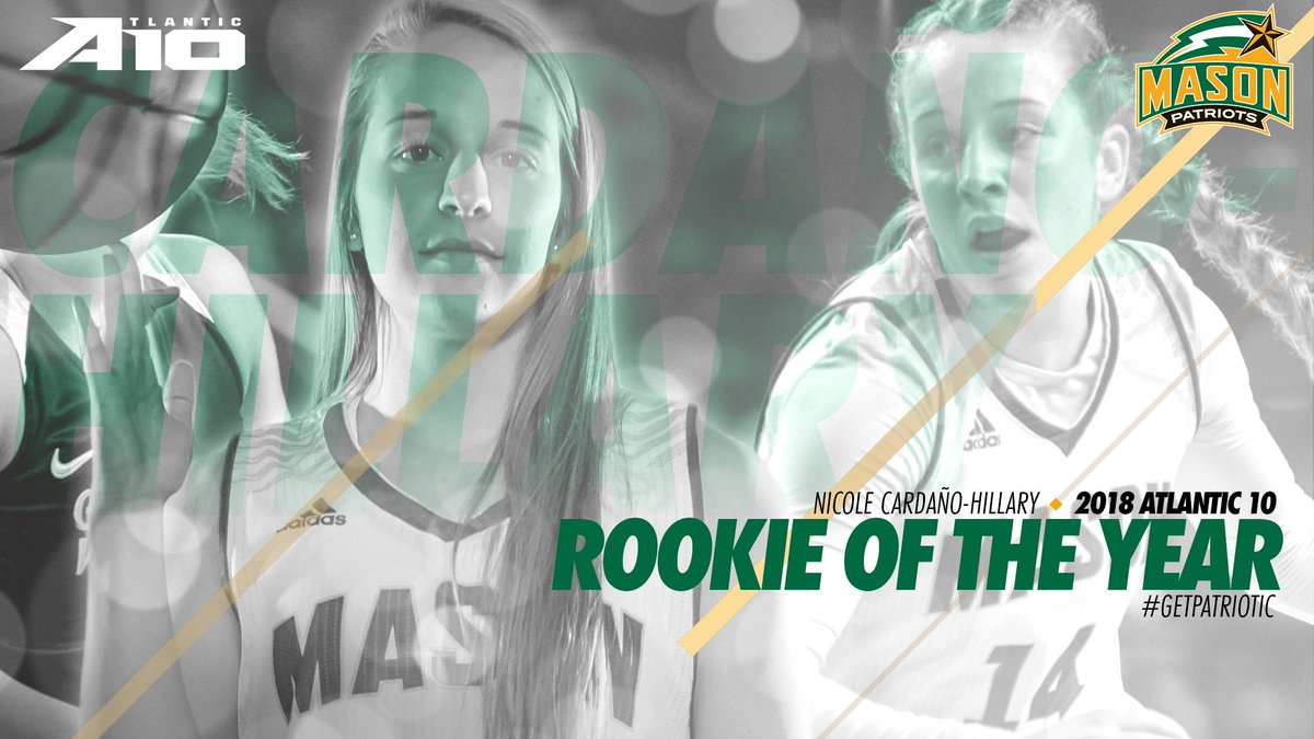 Mason Wbb On Twitter Your 2017 18 Atlantic 10 Conference Rookie Of