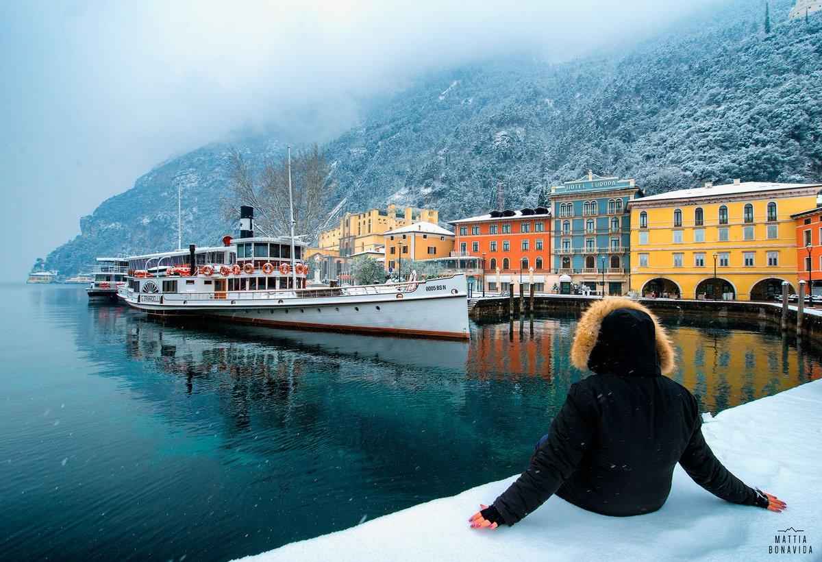 "Результат пошуку зображень за запитом ""Lake Garda in Winter"""