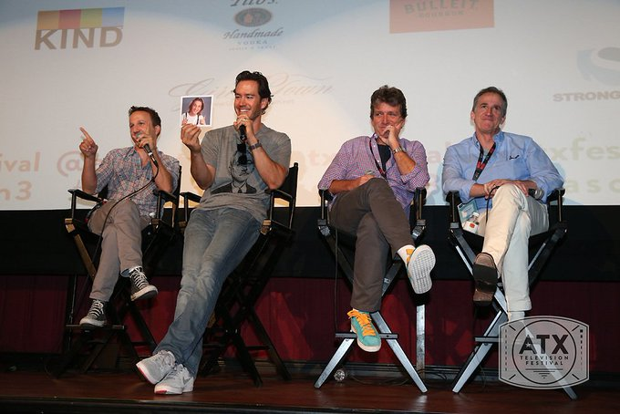 Happy birthday to Mark-Paul Gosselaar! Here\s a fun to our 2014 panel of FRANKLIN & BASH.