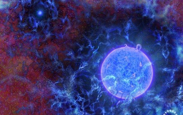 Astronomers glimpse signposts of universe's first stars https://t.co/jIJrfdfcnU https://t.co/2jOuZ70FmW