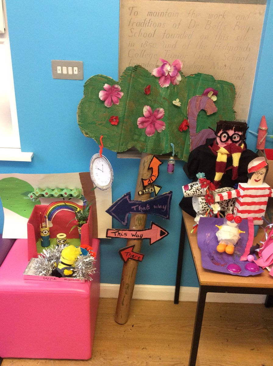 Fishponds Ce Academy On Twitter More Beautiful Book Day Models
