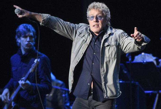 Happy Birthday to Roger Daltrey of The Who! He is 74 years old today!
