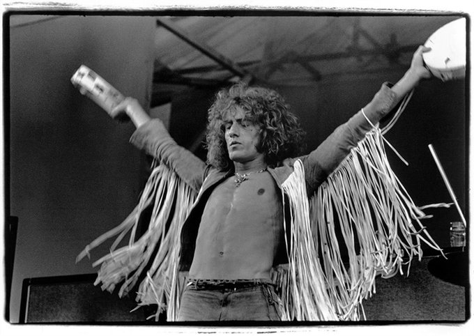 Happy birthday to Roger Daltrey of The Who.
