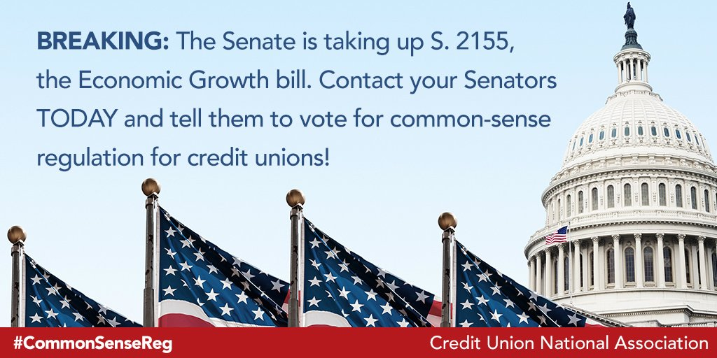 Cuna S Tweet Breaking The Senate Just Announced It Will Give