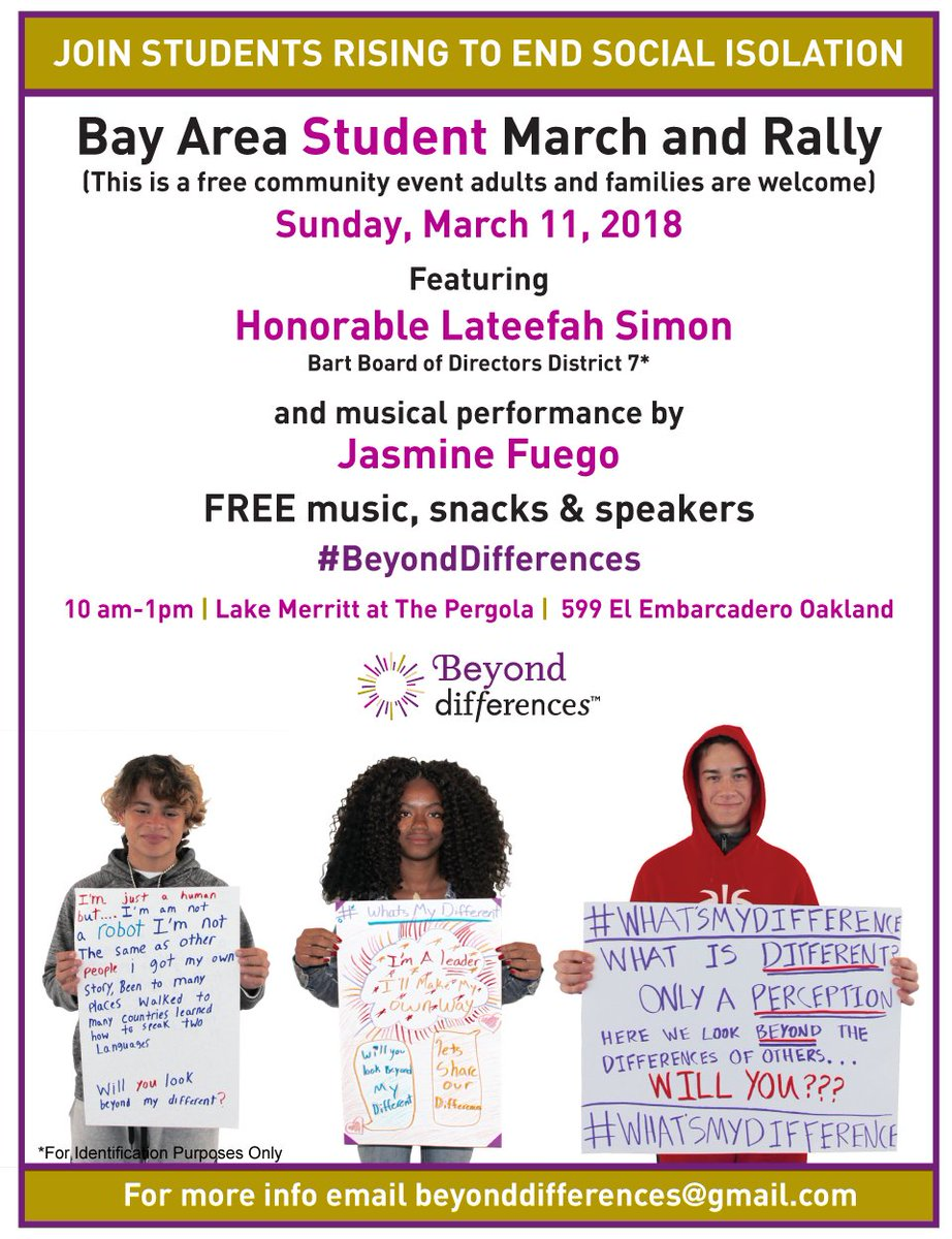 Student March and Rally @ Lake Merritt | Oakland | California | United States