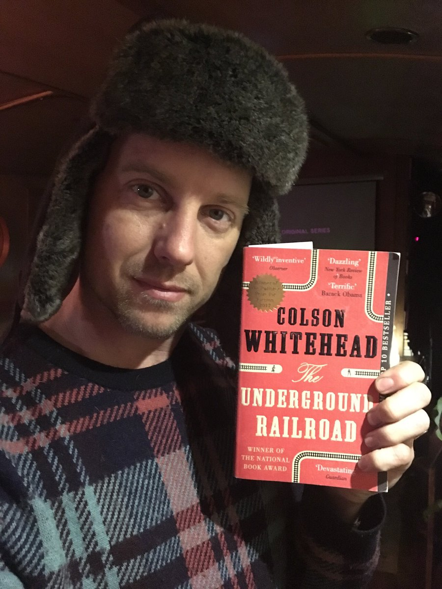 Happy World Book Day! Today I'm learning about The Underground Railroad, which I knew nothing about. Can't say anything else, as it's for my book club    @colsonwhitehead #WorldBookDay2018 #freedom #emancipation #EqualityNow<br>http://pic.twitter.com/wmFzEMlH3G