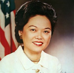 Patsy Mink, the first Asian American woman elected to Congress, co-authored the landmark #TitleIX, revolutionizing gender equality in our nation's schools & institutions #WomensHistoryMonth