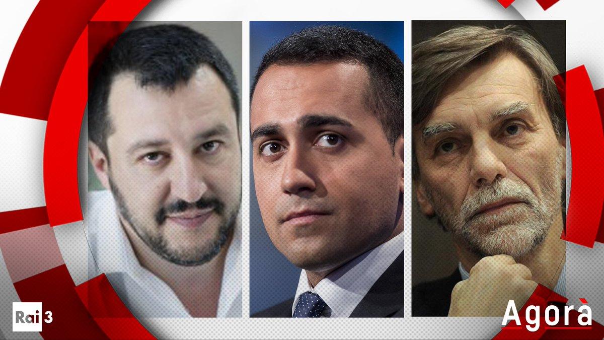 Ultima puntata di Agorà prima del voto di domenica #4marzo! Domani @serenabortone vi aspetta con @matteosalvinimi, @luigidimaio e @graziano_delrio. Ore 8, @RaiTre! #agorarai