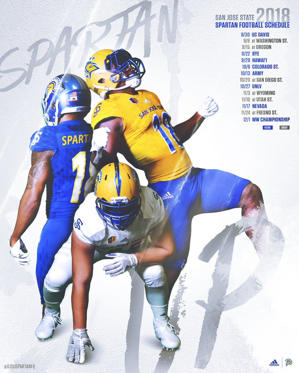 San Jose State Football On Twitter Schedule Release Check Out