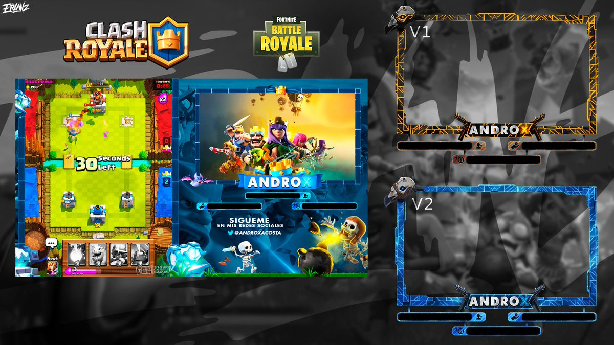 """Fortnite Client erlanx on twitter: """"client work overlays clash royale and"""