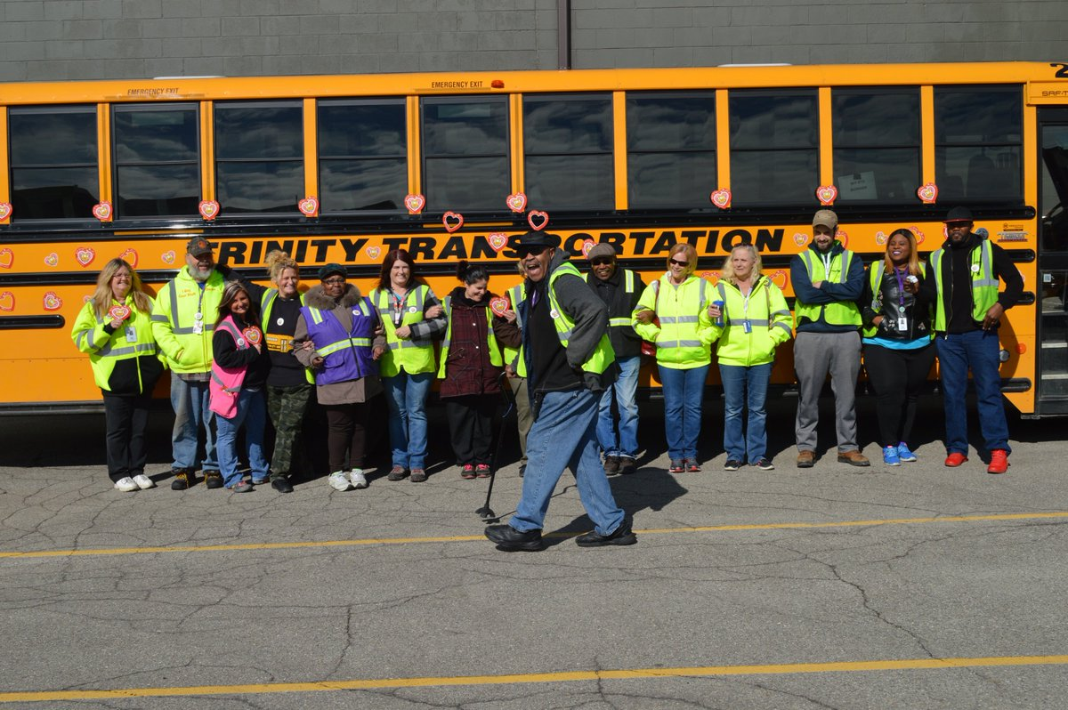 February was #LovetheBus Month! We had s...